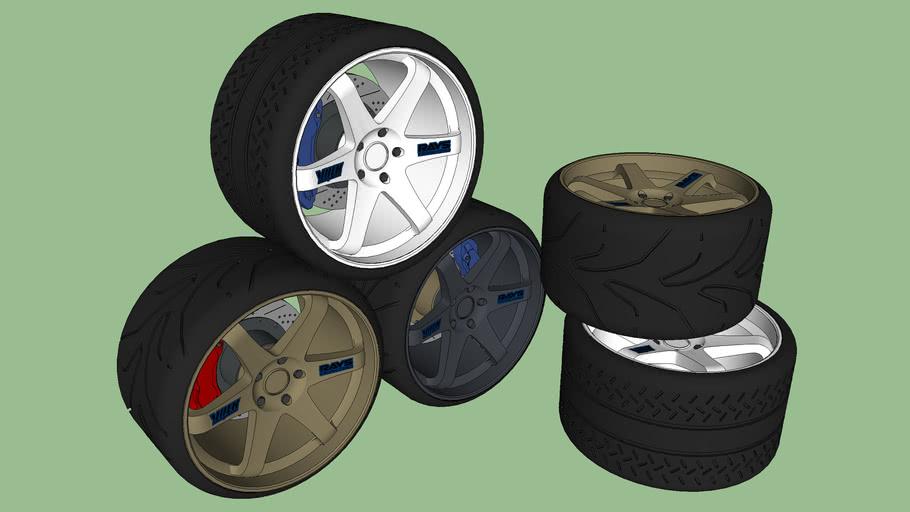 VOLK Racing TE37 Rim (Racing Wheel)