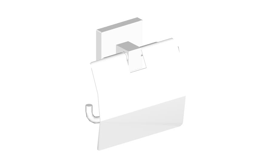 JUSTIME Toilet Tissue Holder w/ Lid_6818-41-80CP