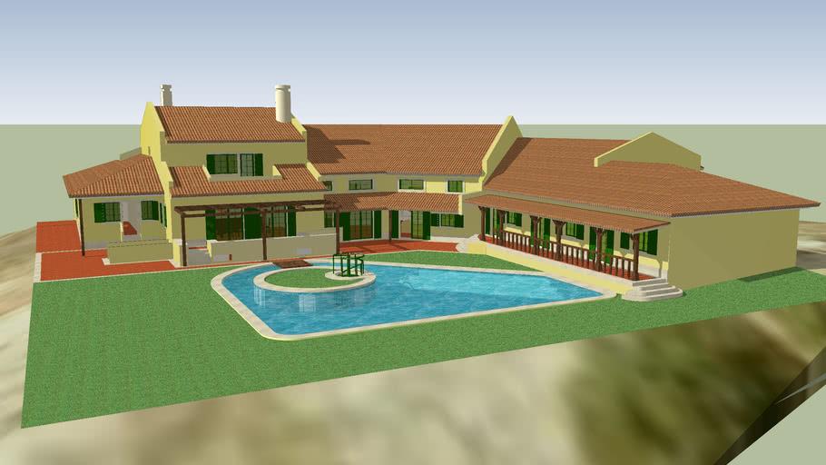 Modelo 3D da Casa Bianchi