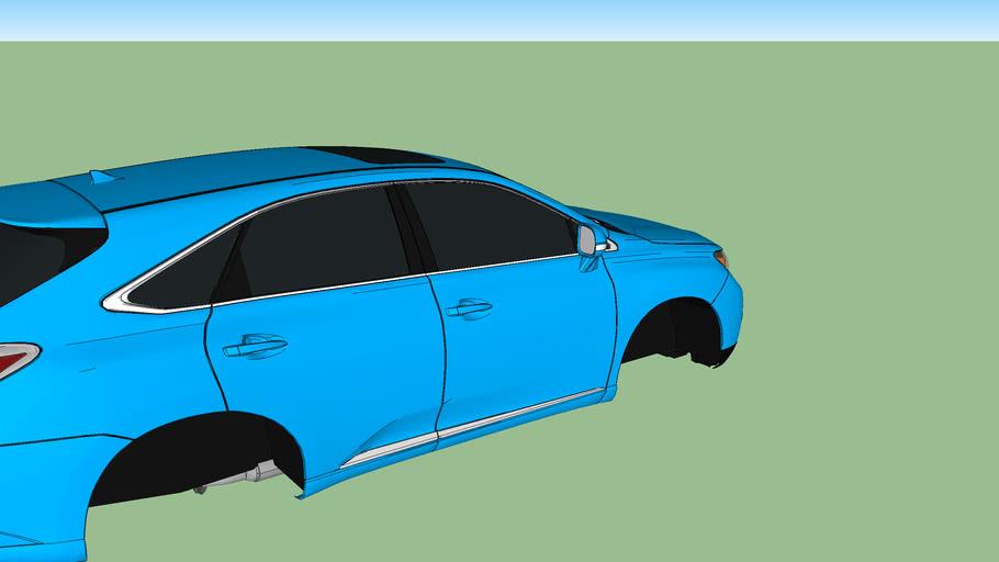 2012 Lexus RX450hblue