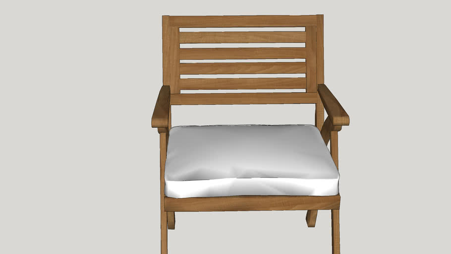 WoodChairWithPillow