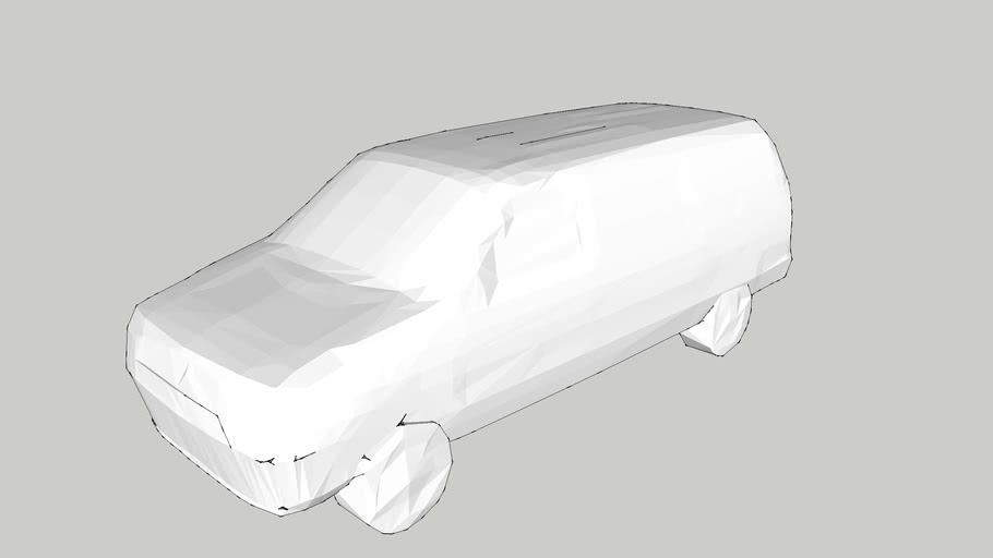 Car – Estate Car – 1/200 – White