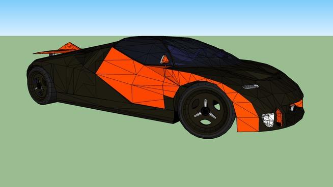 Ford gt90 Tuned (Orange)