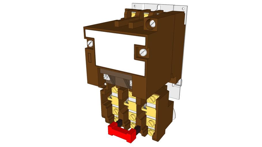 3 Pole 3 Phase Motor Starter Nema Size 0
