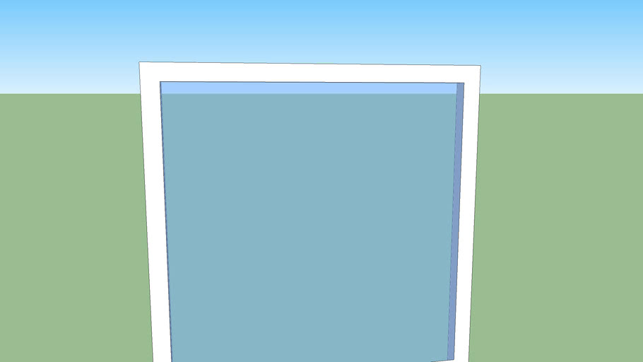 plain window