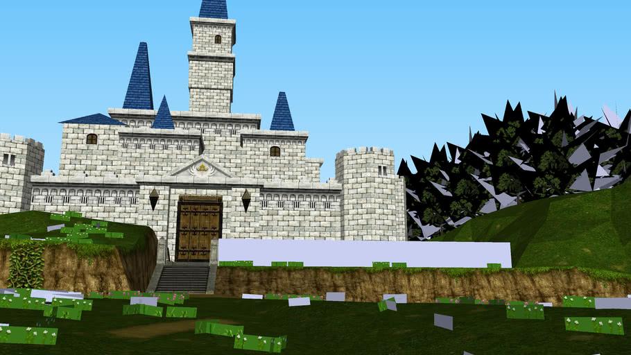 Hyrule Castle Ocarina Of Time 3d 3d Warehouse