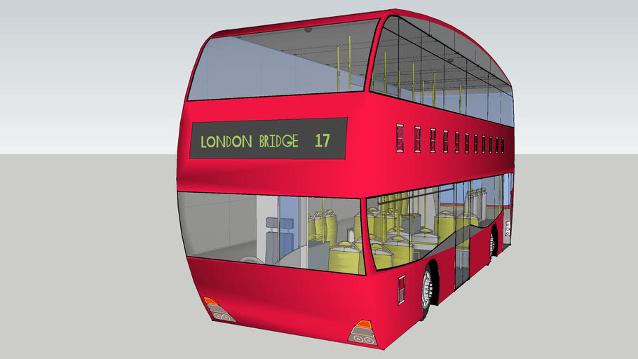 new london routemaster red bus (unofficial)