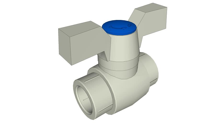 PPR FV-Plast Ball valve plastic 20