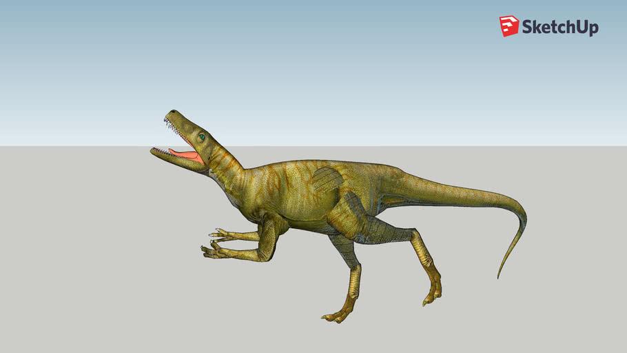 my animated herrerasaurus