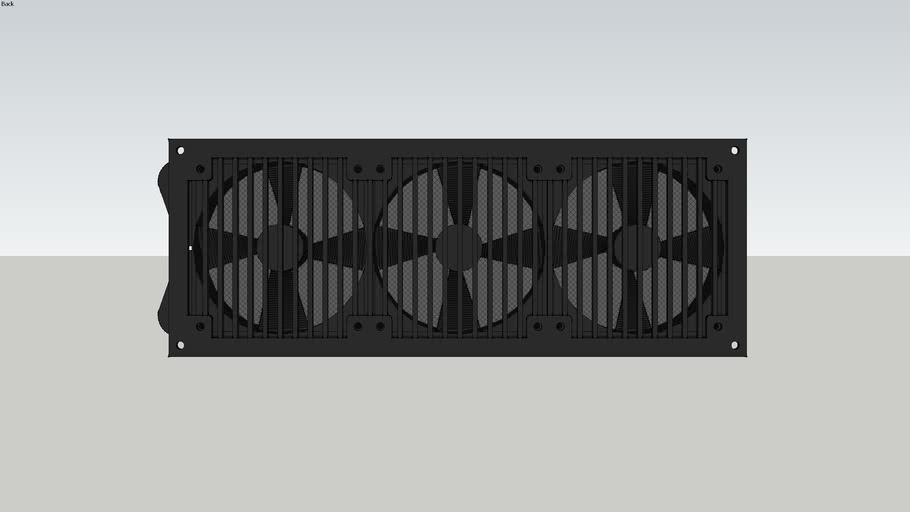 MCR 320 QP, 3 Fans and Grill