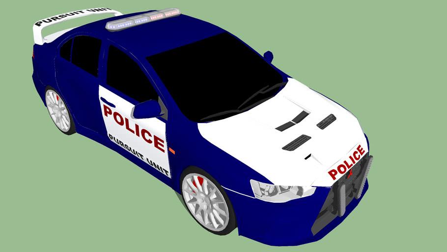 Pursuit Unit Mitsubishi Lancer Evo X