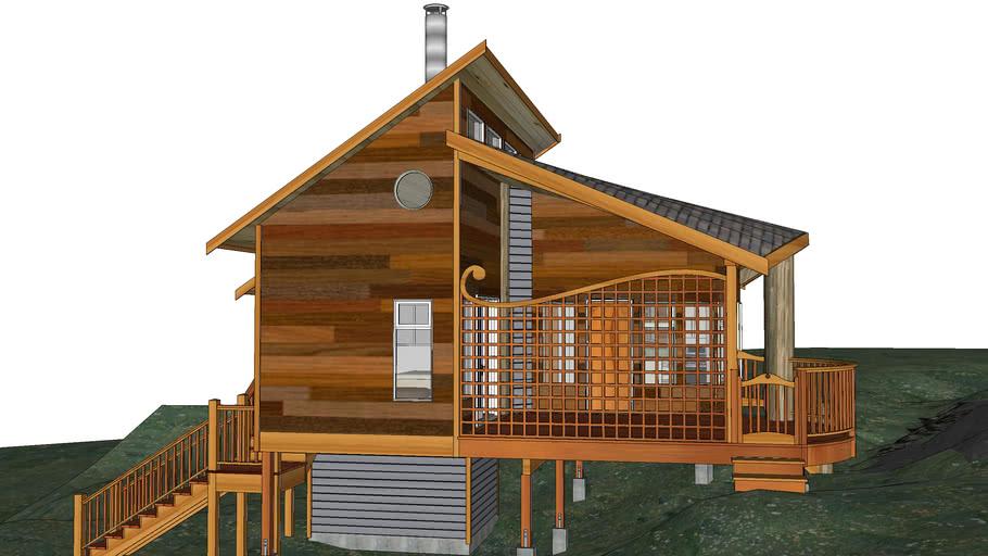 Дачный домик на берегу моря