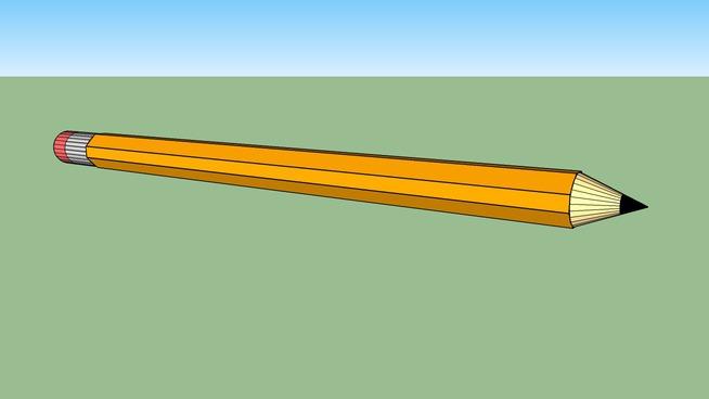 a pencil 一枝鉛筆