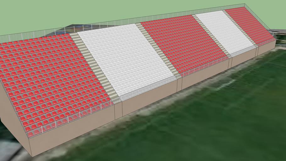 Grada Principal del Estadio 1 del Cedro del Espino