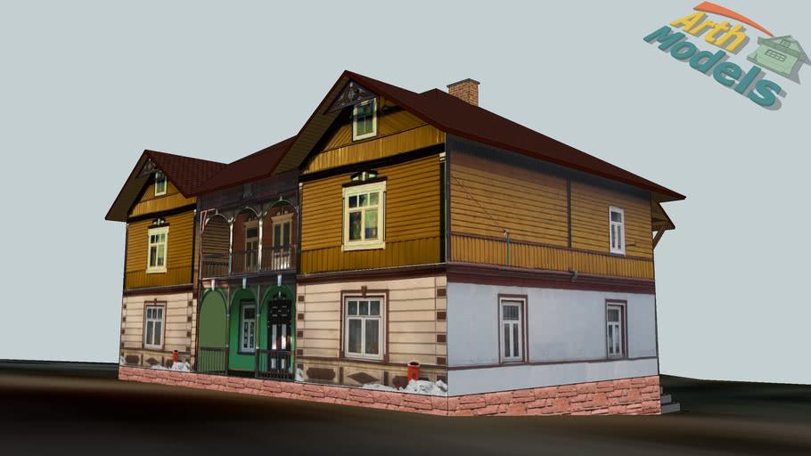 Zawoja  - Dworzec Babiogórski