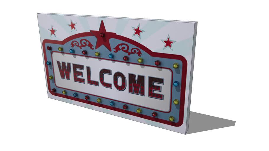 Quadro Welcome