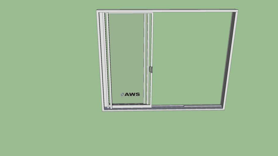 3 panel sliding glass door