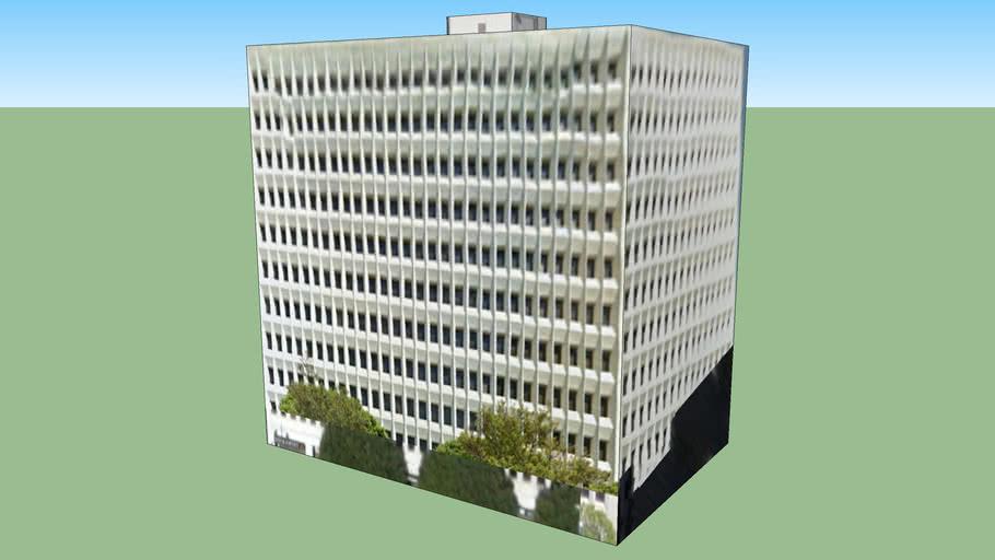 Construção em Los Angeles, CA, EUA