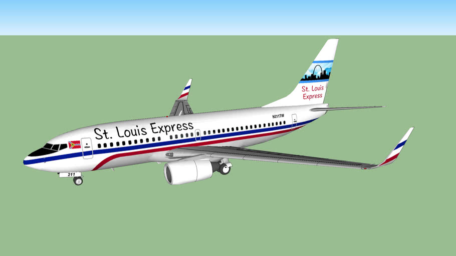 St. Louis Express Boeing 737-731 (2017[F])