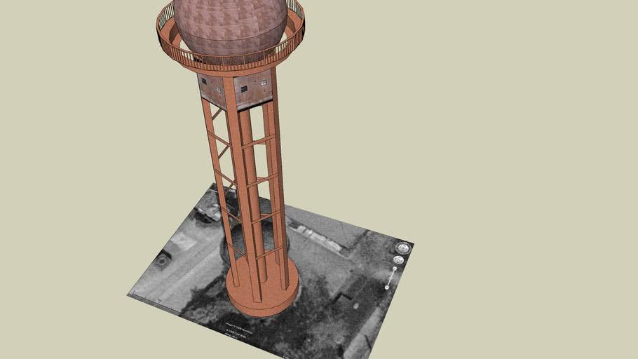Wasserturm im Schöneberger Südgelände
