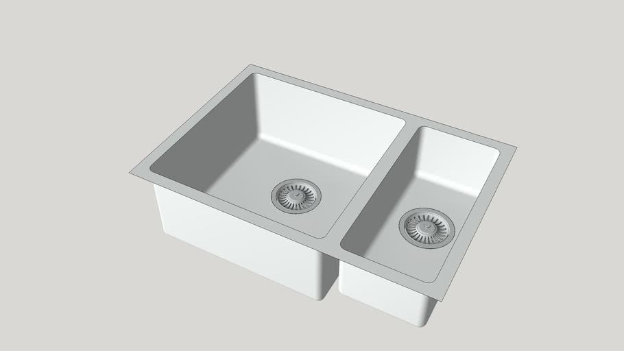 Foster sink KE.1,5V.40+18.ST