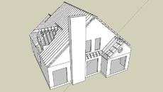 casas e edificios