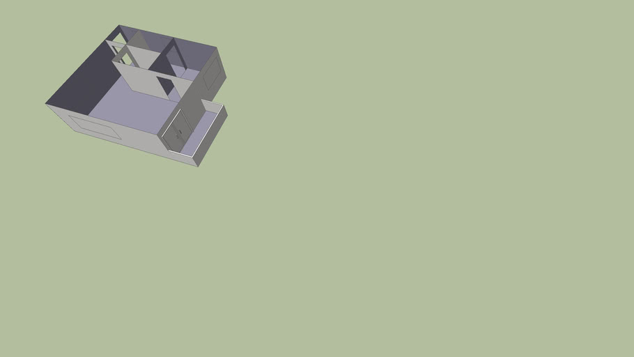 flat om in te richten/ flat to design