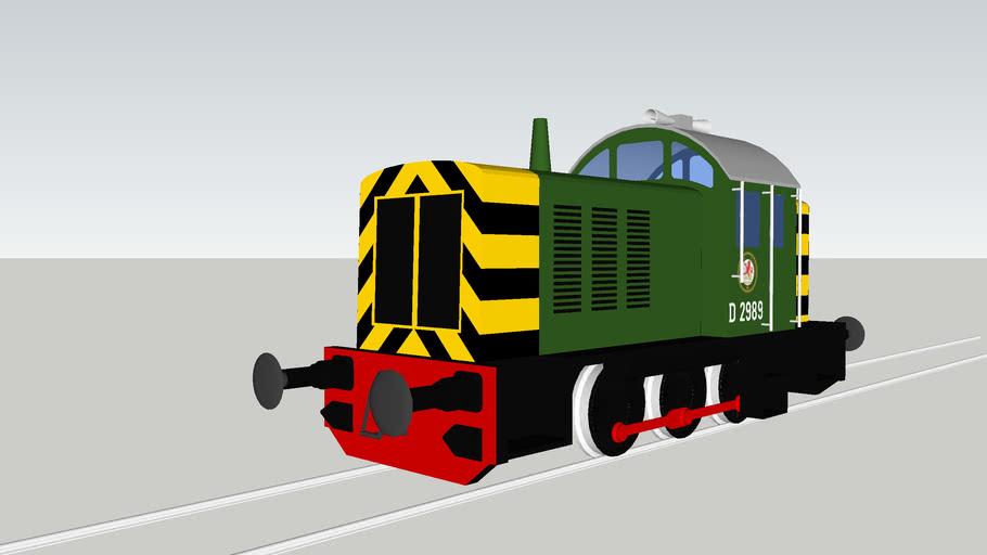 British Railways No. D2989 (1962)