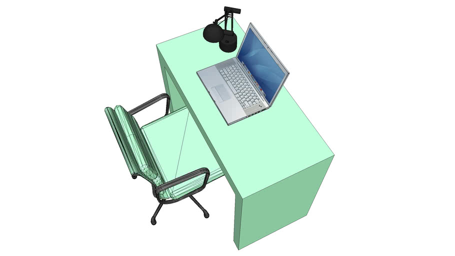 H&G Desk with Chair