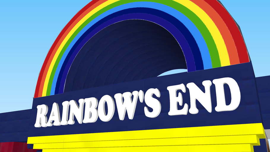 Rainbows end entrance