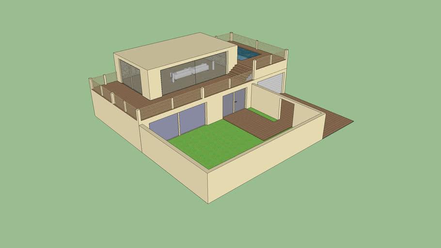 moderen house