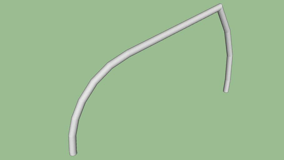 R-8246-SS stainless steel bike rack