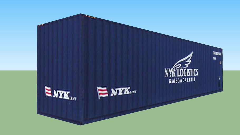 Nyk Logistics & MegaCarrier Container ''40''