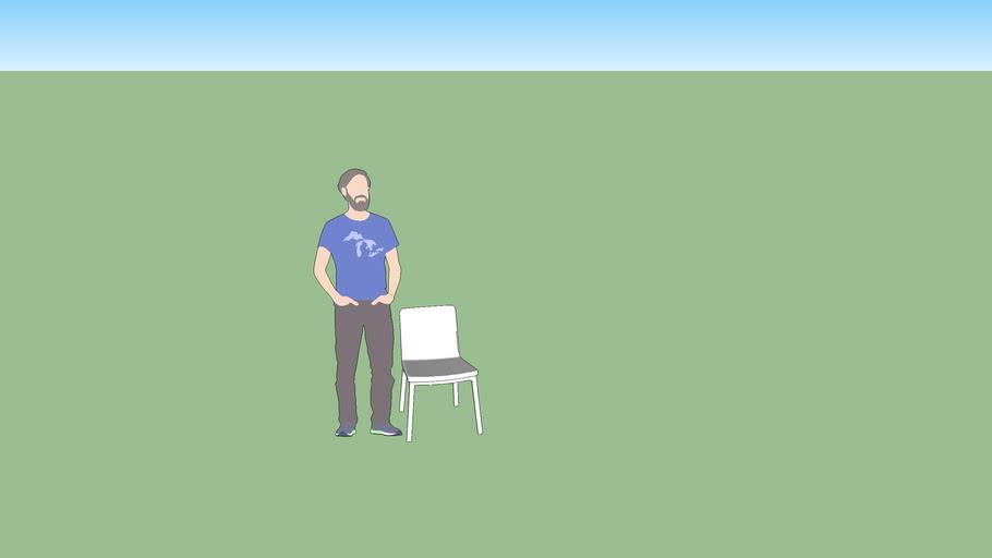 Cadeira Lapa sem Braço