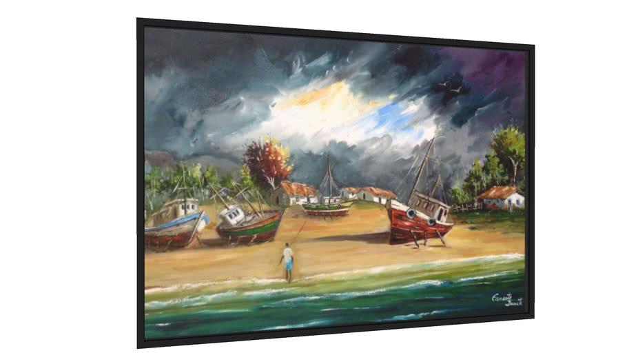Quadro tempestade - Galeria9, por ERNESTO DUARTE