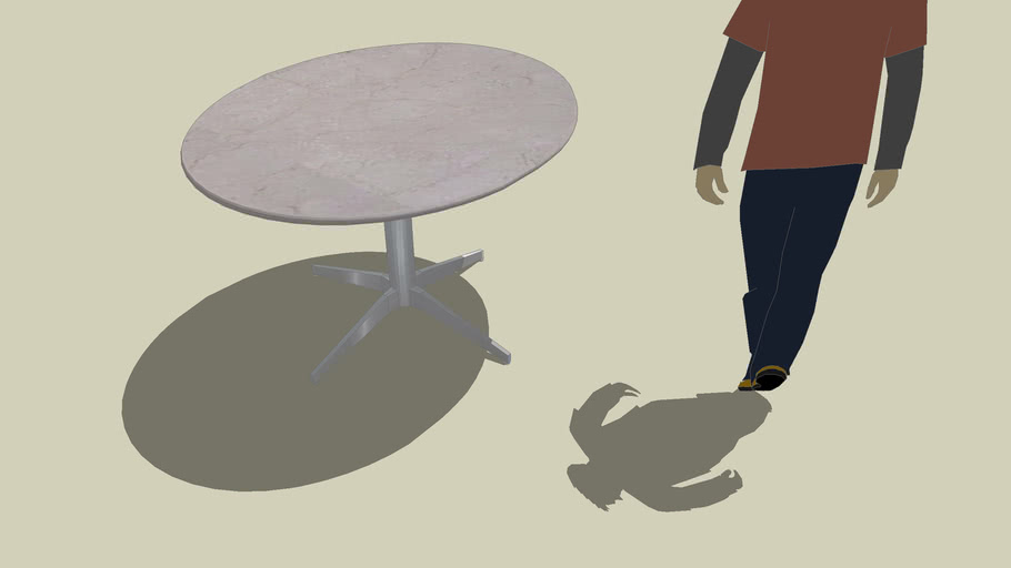 Mable Oval Table