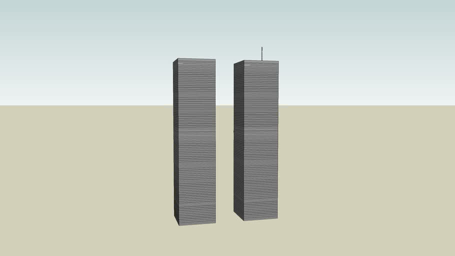 <B> TWIN TOWERS