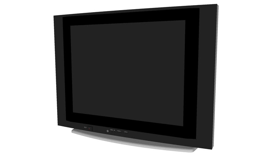 17in Tube Tv - Detailed