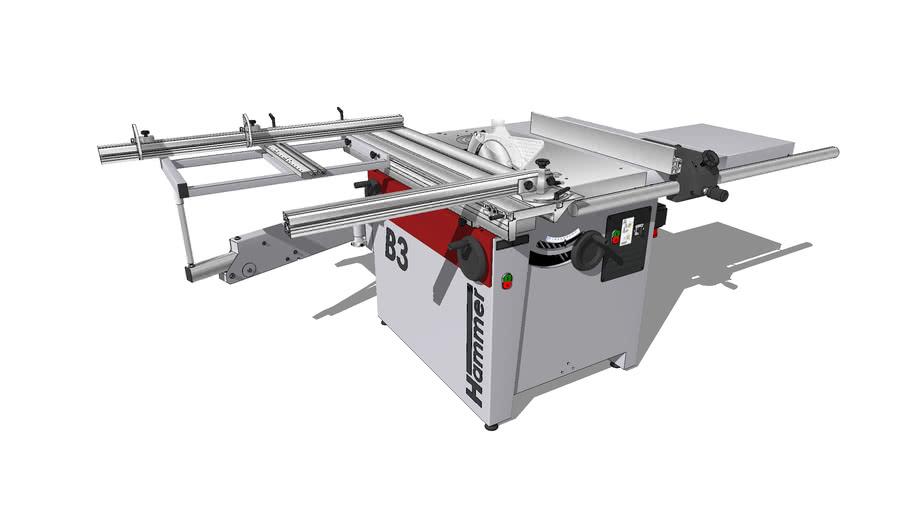 HAMMER B3 WINNER COMFORT | Kreissäge-Fräsmaschine | Tischsäge | Circular saw & milling machine