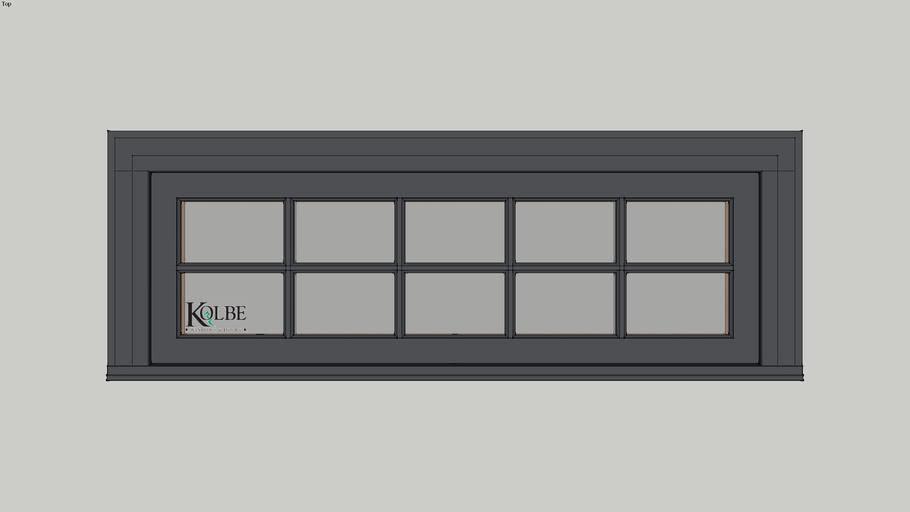 "Kolbe Ultra Casement KU4616P F.S. 4'-6"" x 1'-6"""