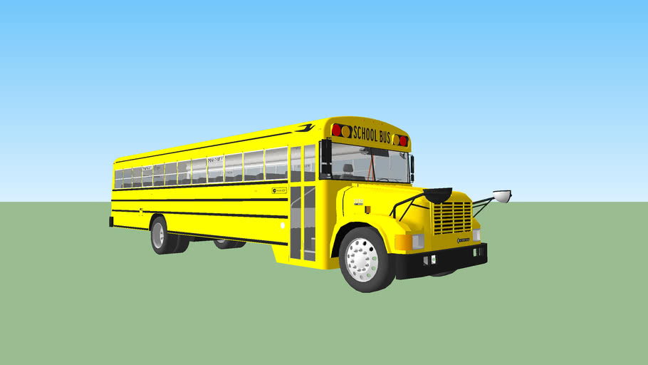 2002 Blue Bird Conventional 3800 School Bus
