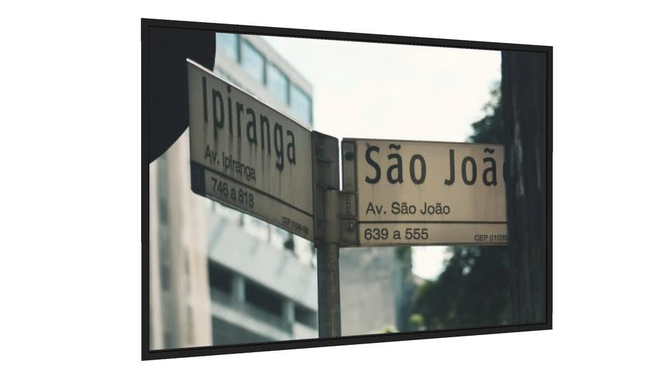 Quadro São Paulo - Galeria9, por Jaime Bregantin