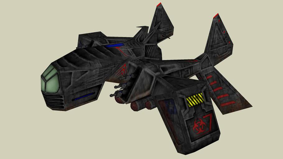 combat spaceship