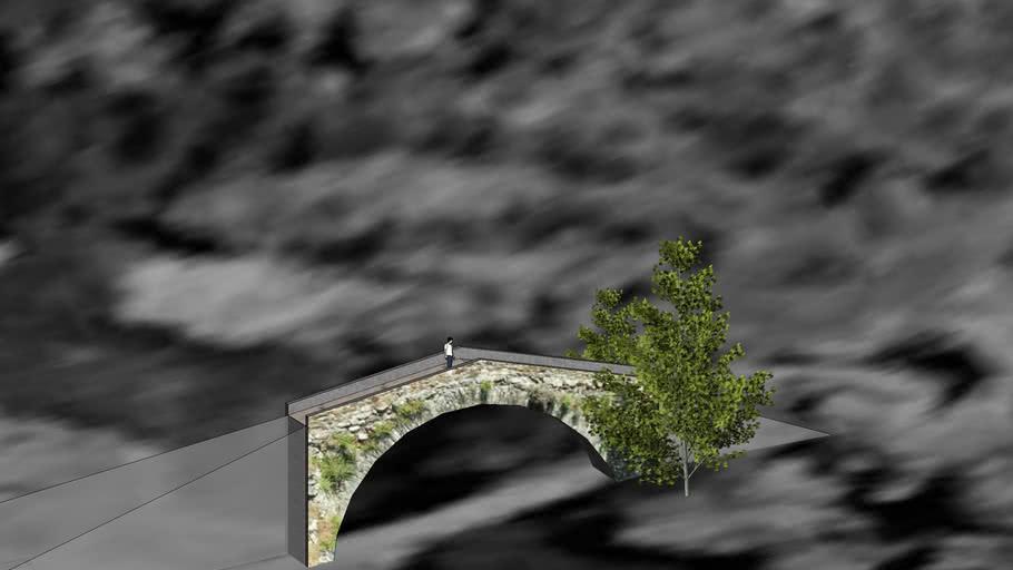 Pont sur l' Asco