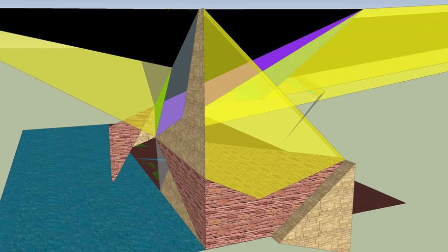 Arévalo´s Building-Sculpture 1