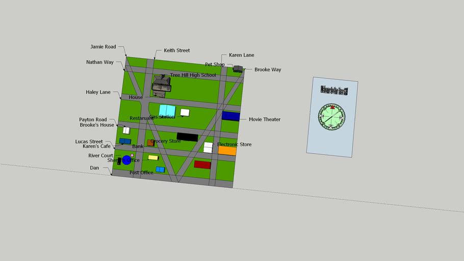 Geometry City One Tree Hill 2016