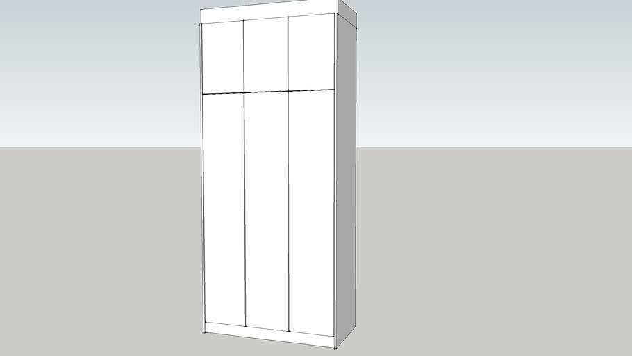 3 DOOR WARDROBE SWING DOOR