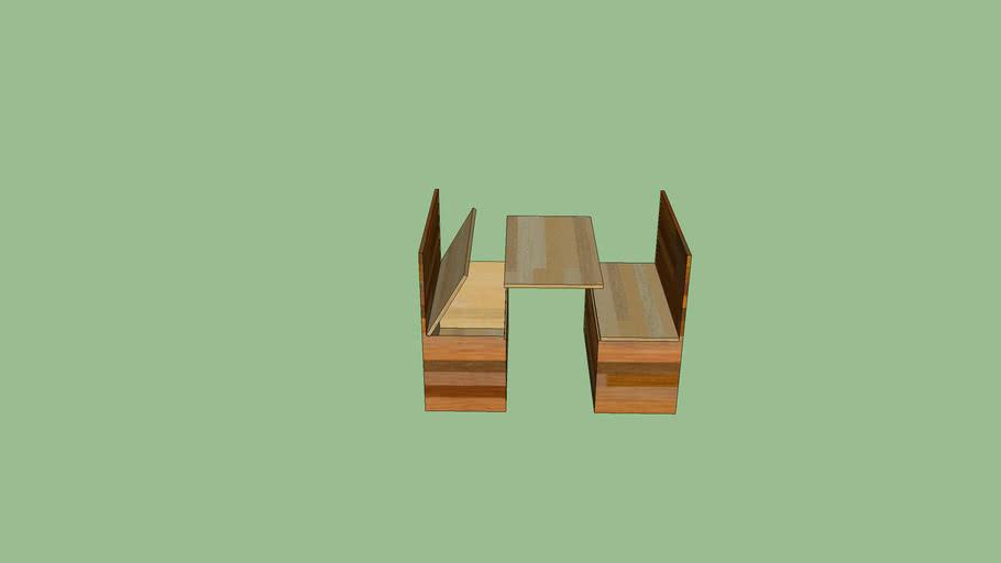 mesa e assentos