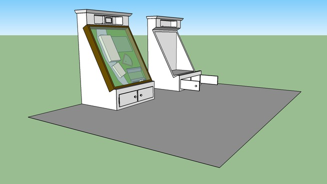 my design for a display model