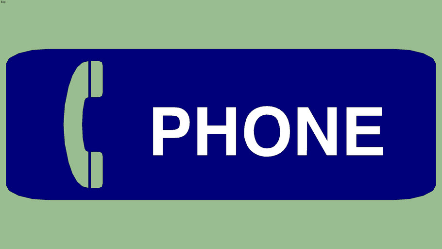 Phone Sign  the Detroit Collection